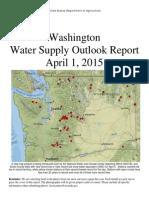 Washington Water Supply Outlook - April 2015