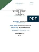 1investigación de Accidente Shi Cristian Silva