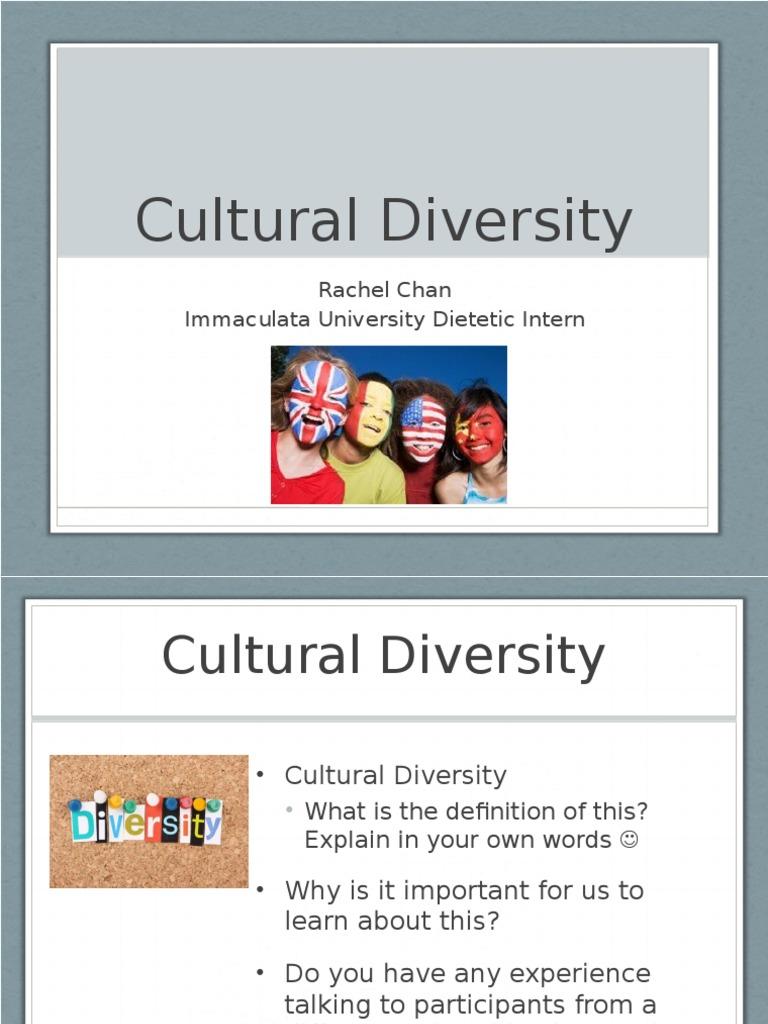 wic cultural diversity | multiculturalism | politics