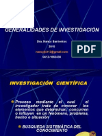 Líneas de Investigación Generalidades