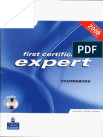 First Certificate Expert Course Book New Edition 2008