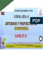 Clase 1 Proyectos 2014 II