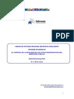 Informe UER DRMN Junio 2013