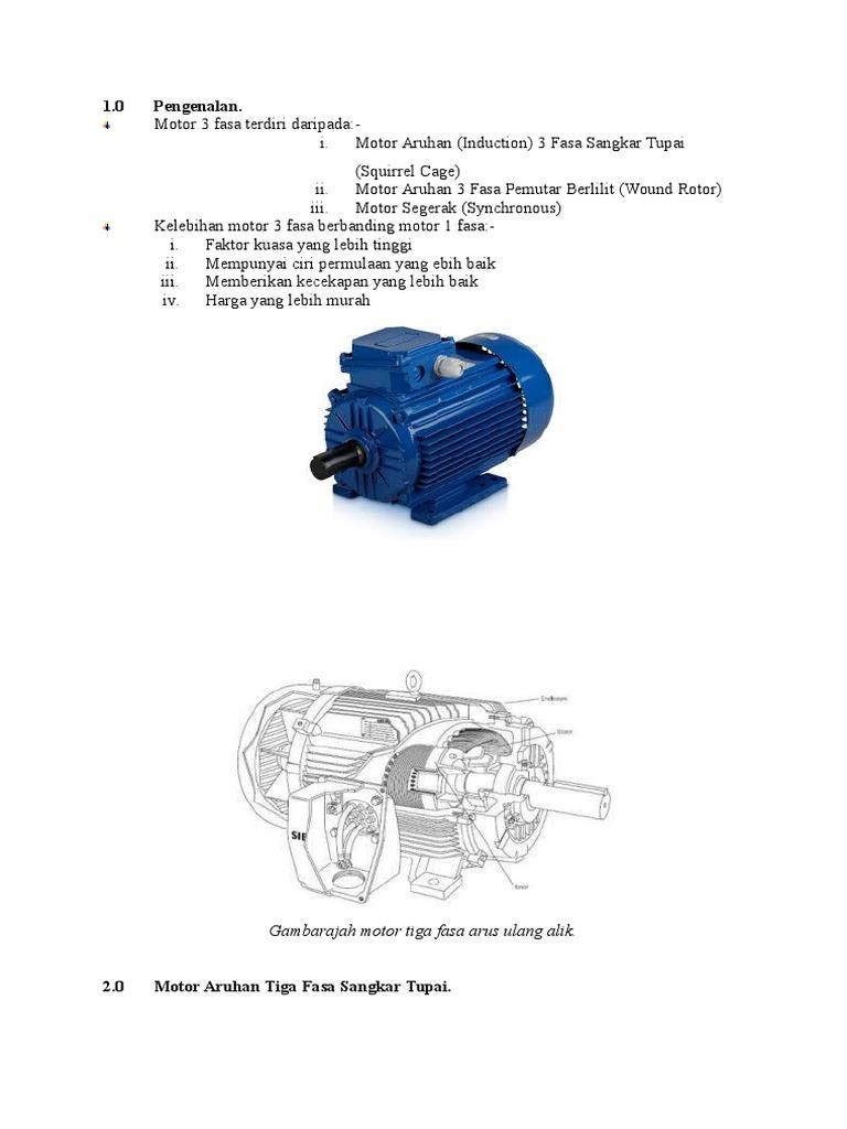 Nota Motor 3 Fasa