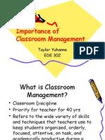 ede 302 classroom management