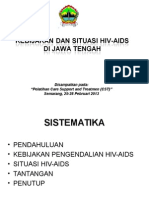 Kebijakan HIV 20130225