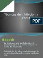 Tecnicas de Facilitacion e Inhibicion