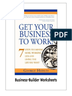 Business Builder Worksheets