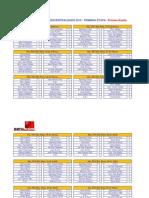 FIXTURE descentralizado 2010