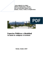 Libro Espacios Publicos 2007