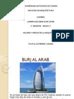 Exposicion Burj Al Arab