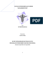 Portofolio Internship kasus medik Cholecystitis