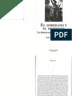 El Soberano y el disidente