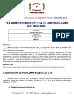 MateMaticAs enfoque de comprensión lectora