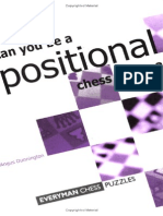 Angus Dunnington - Can You Be a Positional Chess Genius