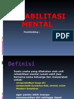 Rehabilitasi Mental