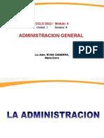 1. La Administracion