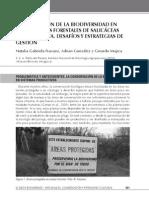 INTA - Conservacion de La Biodiversidad en Plantaciones Forestales de Salicaceas Del Bajo Delta. Desafios y Estrategias de Gestion.