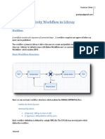 Activity Workflow in Liferay