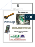 Digital Axle Counter hand book
