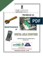 Digital Axle Counter hand book