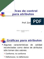 TEORÍA Gráficos de control para atributos.ppt