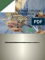 Anestesia Cirugia Laparosc