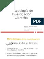1ª Clase Metodología de Investigación - InACAP