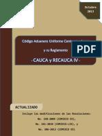 Documento sobre el Código Aduanero Uniforme Centroamerino