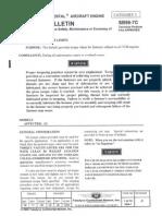 Teledyne Continental Aircraft Engine Service Bulletin Torque Limits 3