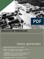 análisis palacio de versalles