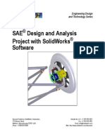 SAE® Design and Analysis Project with SolidWorks®