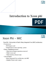 Introduction to Xeon Phi