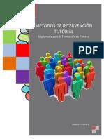 4.3.1. MÉTODOS DE INTERVENCION TUTORIAL