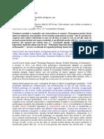 Daniel David Psihologia Poporului Roman - Studiu Sociologic