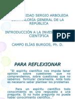 Introducion Investigacion Cientifica Noviembre 2008