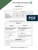 Punto de Equilibrio - Administracion Presupuestaria