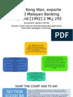 Bankruptcy Case Presentation