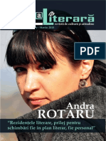 Revista Zona Literara Nr 1-3 Ianuarie - Martie 2015