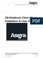 Installation Ds Notebook Client