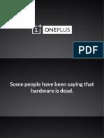 Oneplus One Keynote Optimised to 10%
