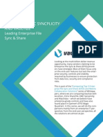 Vaultize vs Syncplicity