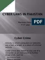 Cyber Laws in Pakistan