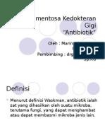 Medikamentosa Kedokteran Gigi Ppt