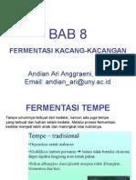 Mikrobiologi Pangan - BAB 8 - Fermentasi Kacang-Kacangan