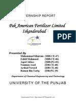Agritech Ltd Internship report