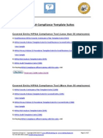 HIPAA Compliance Template Suites