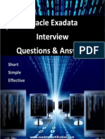 Oracle Exadata Interview Questions and Answers