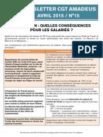Newsletter 15 - Loi Macron