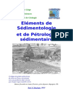 Elements de Sedimentologie